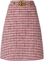 Gucci bouclé-tweed skirt