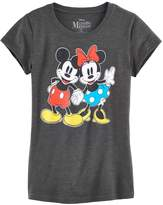 Disney Disney's Mickey Mouse & Minnie Mouse Hand Hold Graphic Tee