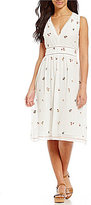 M.S.S.P. Falling Floral Embroidered Dress