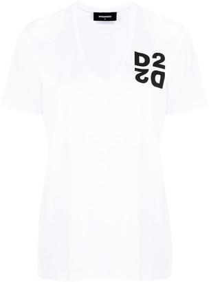 DSQUARED2 D2 print T-shirt