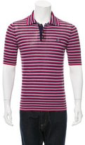 Vivienne Westwood Striped Knit Polo Shirt