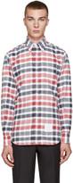 Thom Browne Tricolor Classic Check Shirt