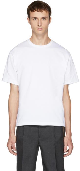 Kolor White Plain T-Shirt