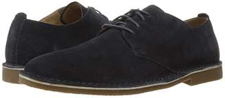 Nunn Bush Gordy Plain Toe Oxford (Navy) Men's Lace up casual Shoes