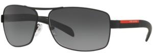 Prada Linea Rossa Polarized Sunglasses, Ps 54IS