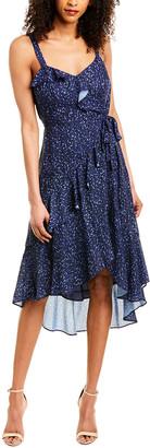 Parker Tie-Waist Midi Dress