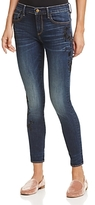 Aqua Embroidered Skinny Jeans - 100% Exclusive