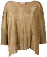 Jucca boxy sweater - women - Polyester/Viscose - S