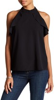 Romeo & Juliet Couture Banded High Neck Tank