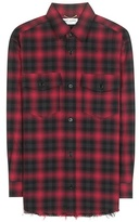Saint Laurent Check Cotton Shirt