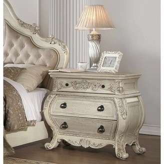 Antique White Nightstand Shop The World S Largest Collection Of Fashion Shopstyle
