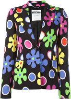 Moschino flower power blazer - women - Rayon/other fibers - 40