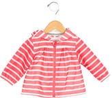 Petit Bateau Girls' Lightweight Striped Jacket