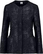 Iris and Ink Sabana metallic tweed jacket