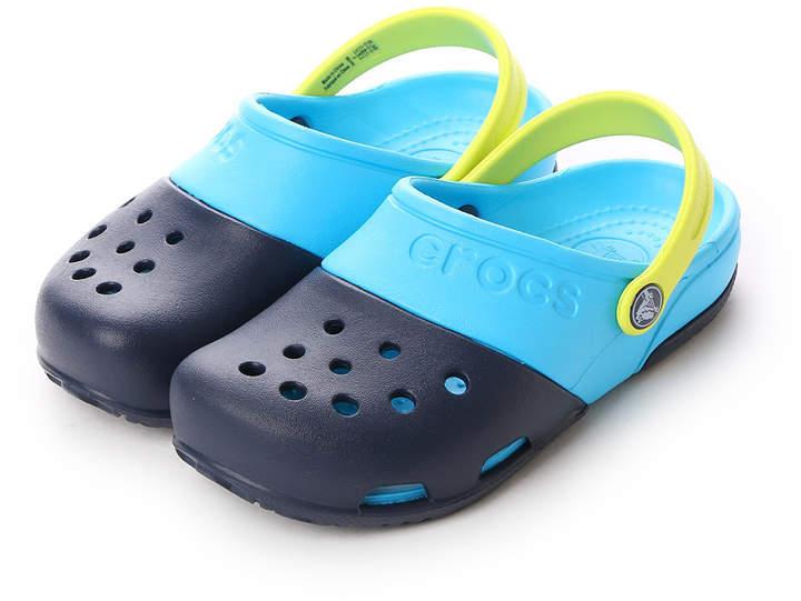 Crocs (クロックス) - クロックス crocs ジュニアサンダル Electro 2.0 Clog Navy/Electric Blue C10 15608-41T-C10
