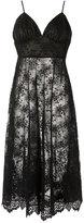 Olympiah - midi lace dress - women - Cotton/Polyester - 34