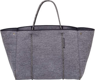 State of Escape Escape Perforated Tote Bag, Charcoal