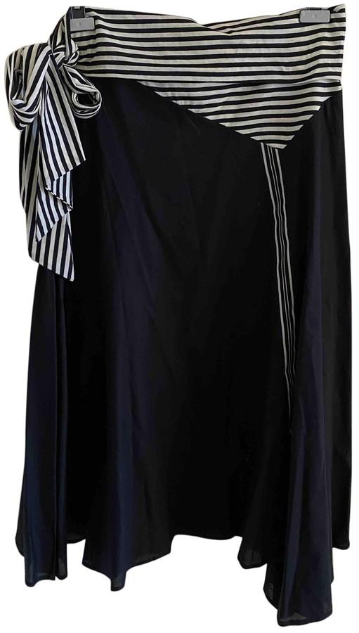 Antonio Marras Black Cotton Skirt for Women