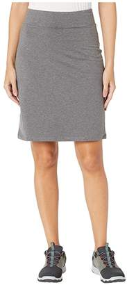 Toad&Co Moxie Pencil Skirt (Charcoal Heather) Women's Skirt