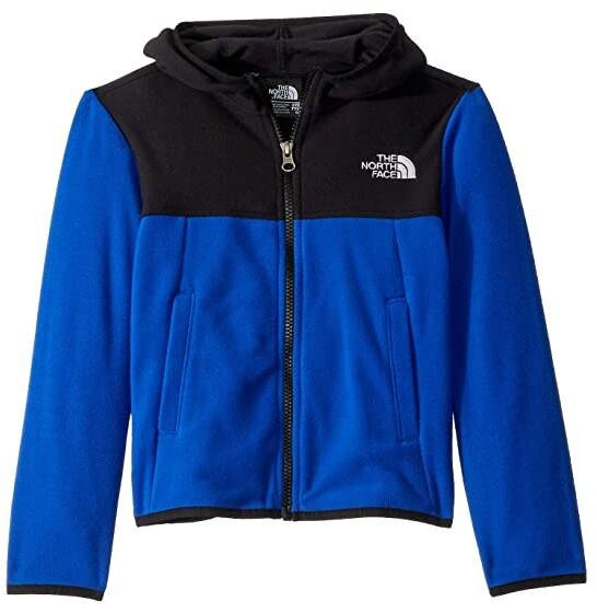 The North Face Kids Glacier Full Zip Hoodie (Little Kids/Big Kids) (TNF Blue) Boy's Sweatshirt