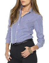 Lauren Ralph Lauren Petite Classic Long-Sleeved Shirt