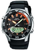 Casio Men's Core AMW710-1AV Black Resin Quartz Watch