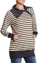 Momo Maternity Asymmetrical Collar Jacket (Maternity)