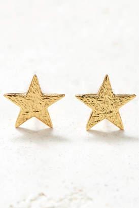 Gorjana Gold Star Stud Earrings Gold