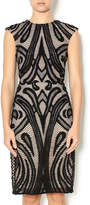 Lumier Black Lace Dress