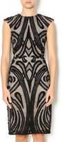 Lumier Black Lace Dress
