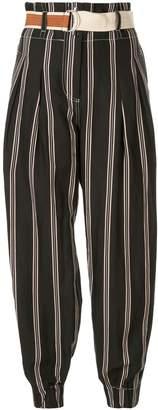 Lee Mathews Madox stripe trousers