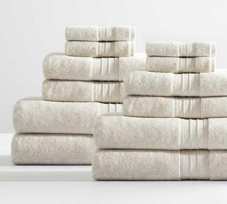 Pottery Barn Hydrocotton Organic Towel Bundle - Set of 12