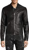 Diesel Black Gold Men's Lionel Leather Jacket
