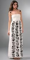 Hippie Smocked Maxi Dress