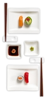Villeroy & Boch New Wave Sushi for Two (8 PC)