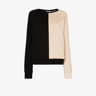 Ninety Percent Two Tone Organic Cotton Sweatshirt