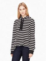 Kate Spade Stripe hooded sweatshirt
