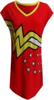Briefly Stated DC Comics Wonder Woman Logo Nightshirt for women