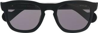Moncler Eyewear Wayfarer Square Frame Sunglasses