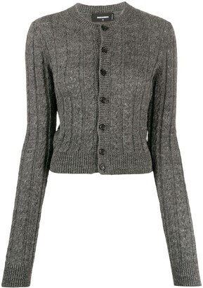 DSQUARED2 Knitted Button-Front Cardigan