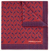 Turnbull & Asser Geometric Paisley Pocket Square