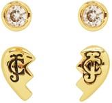 Juicy Couture Broken Hearts Stud Earring Set