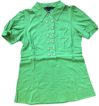 Marc by Marc Jacobs Green Cotton Top for Women
