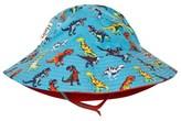 Hatley Blue Dinosaur Print Sun Hat