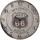 Sterling Route 66 Wall Clock