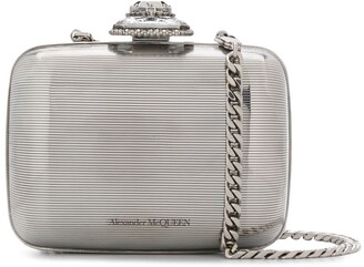 Alexander McQueen Branded Clutch Bag
