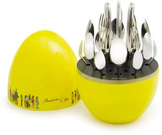 Christofle x Pharrell Williams & Jean Mood 24-Piece Cutlery Set