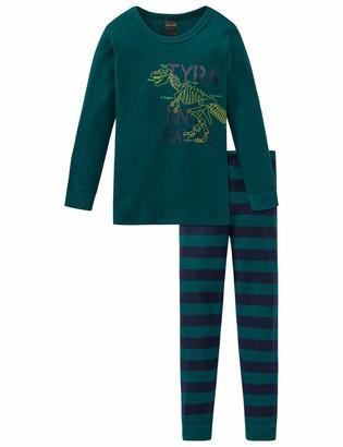 Schiesser Boys' Supersaurus Kn Anzug 3-teilig Pyjama Sets