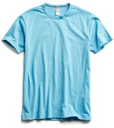 Todd Snyder + Champion Champion Basic Jersey Tee in Pool Blue