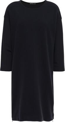 James Perse Zip-detailed Scuba Mini Dress